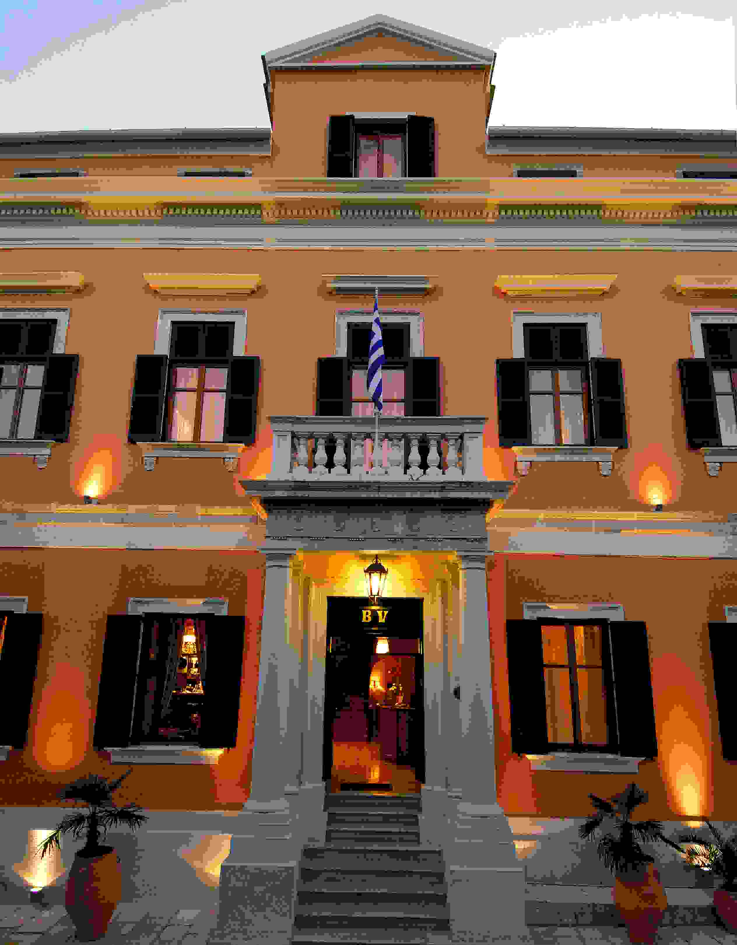 Bella venezia hotel in corfu town greece corfu hotels for Design boutique hotel venice